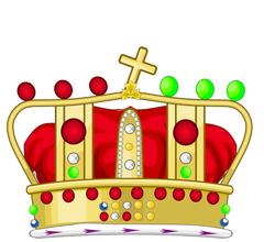 Crown of Saint Joseph Heraldic Version