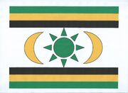 Kingdom OF St Hollyhead-Lewis National Flag