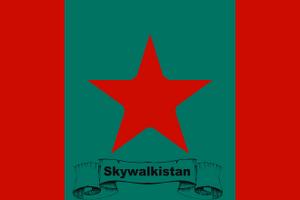 Skywalkistan Flag