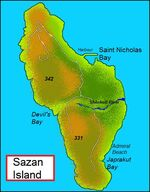 Sazan-island-map-english