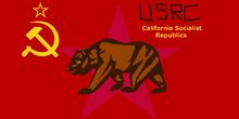 United Socialist California Micro Republics National Flag