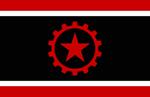Libertarian socialist flag by frankoko-d4z0v3q