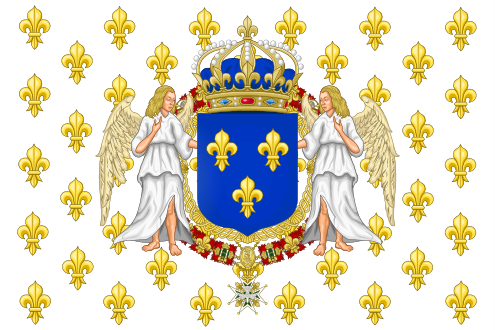 File:Royal Standard of the Kingdom of France.png