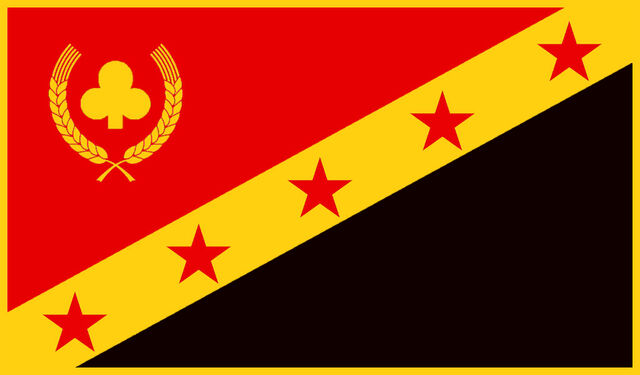 File:National Banner of the Equalist Republic of Cloverland.jpeg