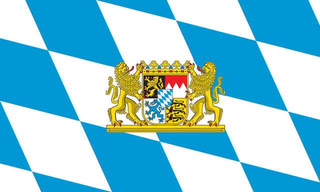 File:800px-Flag of Bavaria (lozengy)Emblem.png
