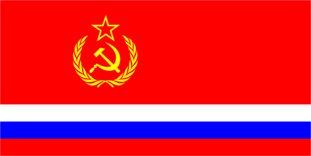 File:Soviet New Russian Flag.png