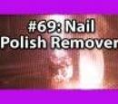 3x025 - Nail polish remover