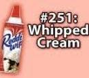 9x009 - Whipped Cream