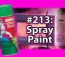 7x047 - Green Spray Paint