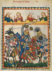 Codex Manesse 17r Herzog von Anhalt