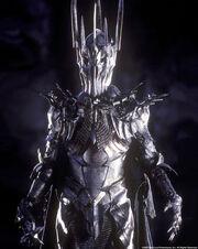 Sauron in armor