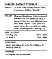 Resume CaptainPremium