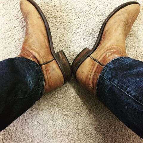 File:Dylan Bruce new boots first day first scene.jpg