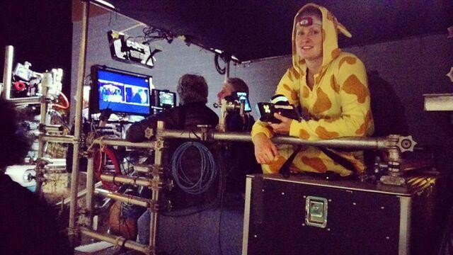 File:BTS giraffe on set.jpg