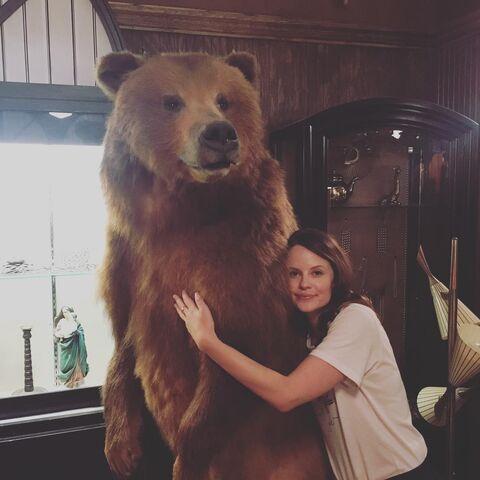 File:BTS Sarah Ramos with stuffed bear.jpg