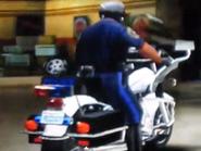 MC3 DUB Edition Kawasaki Police 1000 Rear