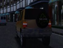 MCSR Vauxhall Frontera Rear