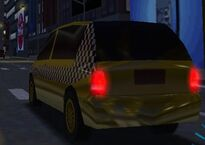 MCSR Chrysler Town and Country Taxi Rear