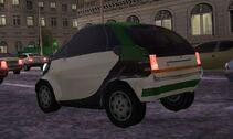 MC2 1998 Smart City Coupe Rear