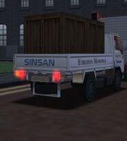 MCSR Nissan Cabstar Rear