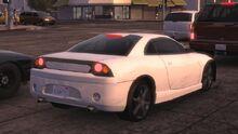 MCLA Mitsubishi Eclipse-Like Car Rear