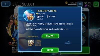 Gungnir Strike