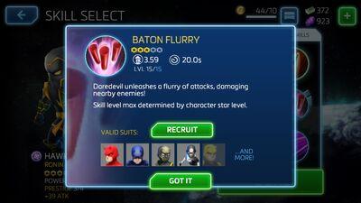 Baton Flurry