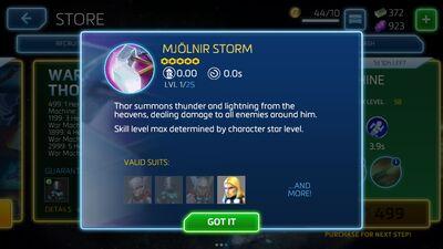 Mjolnir Storm