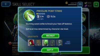 Pressure Point Strike