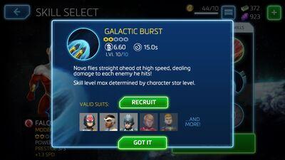 Galactic Burst