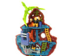Mighty Max Blows Up Dino Lab