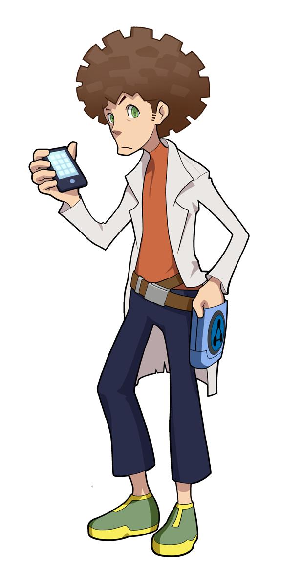 Dr. White | Mighty No. 9 Wiki | FANDOM powered by Wikia