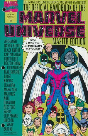 Official Handbook of the Marvel Universe Master Edition Vol 1 20