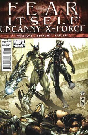 Fear Itself Uncanny X-Force Vol 1 2