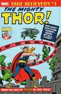True Believers Jack Kirby 100th Anniversary Thor Vol 1 1