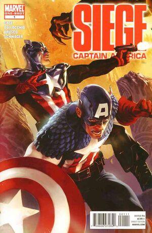 Siege Captain America Vol 1 1