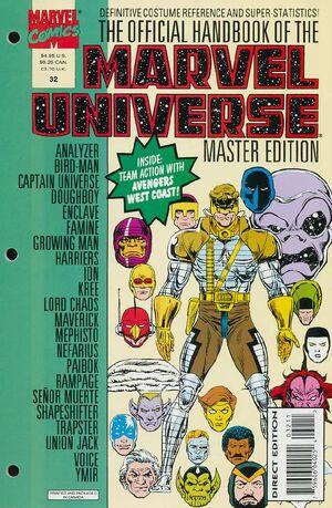 Official Handbook of the Marvel Universe Master Edition Vol 1 32