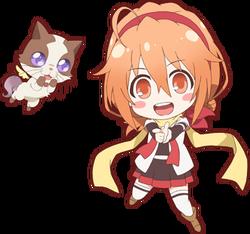 Eruna&bimii-anime chibi