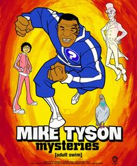 Mike Tyson Mysteries SDCC Promo