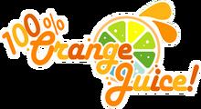100% Orange Juice-Logo