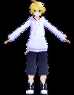 Len hoodie by Jiyurun