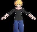 Len Kagamine Loungewear Tda Edit (Jiyurun)