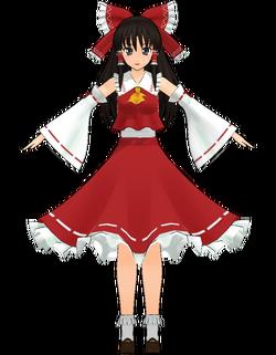 Reimu Hakurei by Nakao