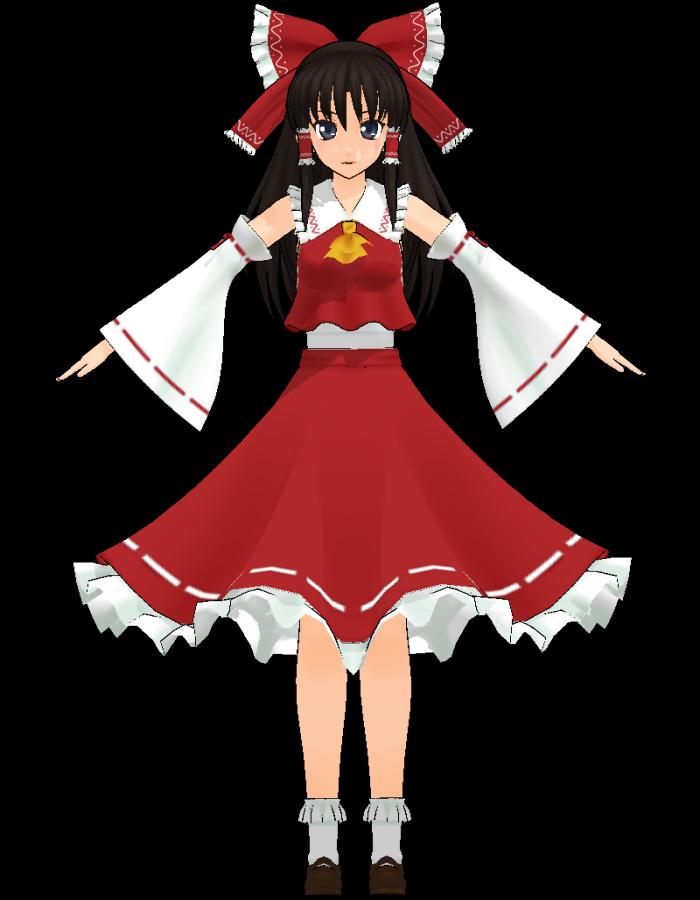 Reimu Hakurei Nakao Mikumikudance Wiki Fandom