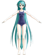1052 Miku swimsuit L ver.1.10 by Gouriki