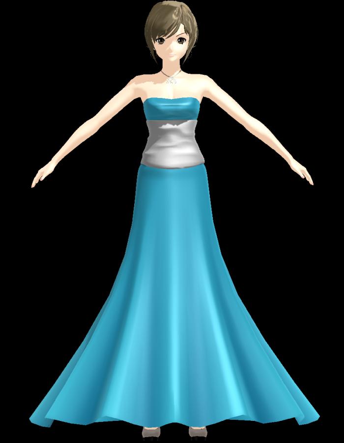 Image - MEIKO Prom Dress Mermaid by Jomomonogm.png | MikuMikuDance ...