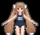 Rin Kokonoe School Swimsuit (Kakomiki)