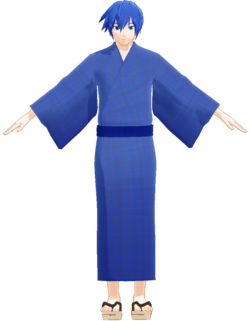 Kaito yukata by YM
