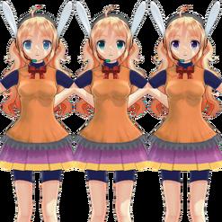 Luna Amane (Nanami) comparison