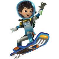 Miles Calissto riding Blastboard